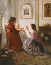the-shattuck-family-with-grandmother-mother-and-baby-william-by-aaron-draper-shattuck-1865-via-brooklyn-museum_6th_wonder_week